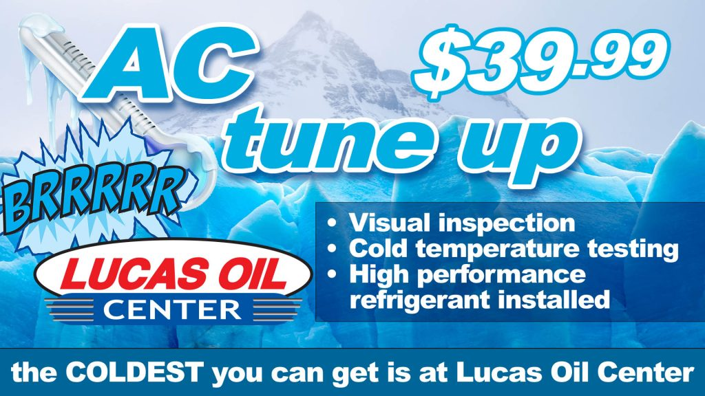 Get your air conditioner blowing as cold as ice! - Lucas Oil