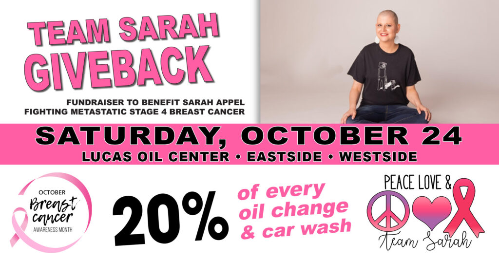 Sarah Appel Breast Cancer Benefit