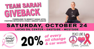 Sarah Appel Breast Cancer Benefit