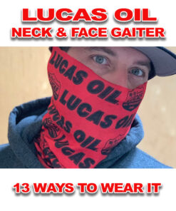 Lucas Oil Neck and Face Gaiter