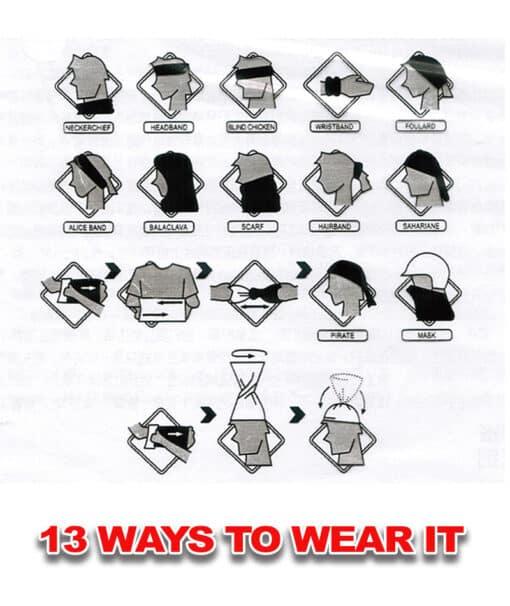 Neck Gaiter How To Wear It