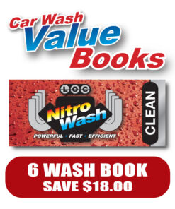 Clean Car Wash Vaule Book