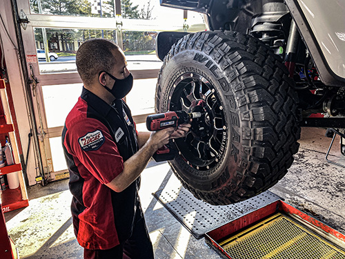 Tire Rotation and Inspection